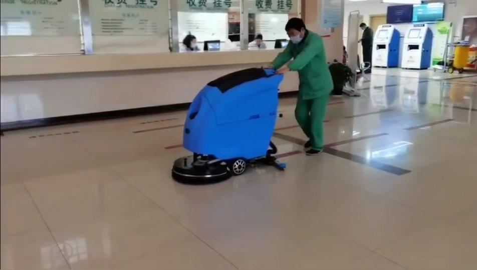 宁波某医院与优尼斯携手,共同打造地面清洁新环境