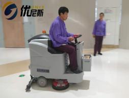 吴中SM广场再次采购CLEVER全自动驾驶式洗地机做保洁