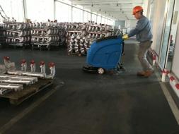 优尼斯领航洗地机行业的发展升级