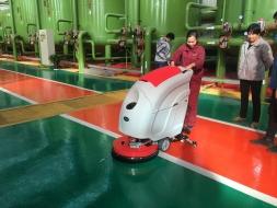 选对清洁剂对于洗地机清洗地面时很重要