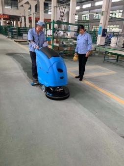 工厂车间地面清洁应选择哪种洗地机
