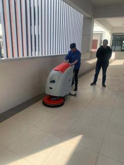 常熟洗地机噪音问题的产生及解决方法