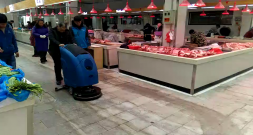 连云港菜市场选择使用洗地机需要注意哪些事项?