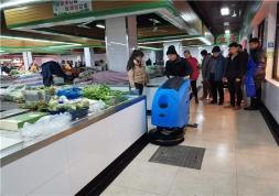 扬州菜市场洗地机--清洁设备市场的新宠儿!