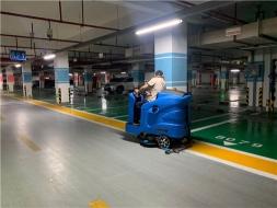 泰州靖江物业用驾驶式洗地机节省保洁成本