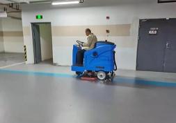 物业保洁用洗地机是清洁神器
