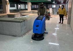 手推式洗地机刷盘电机和吸水电机的保养