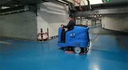驾驶式洗地机的六项日常维护