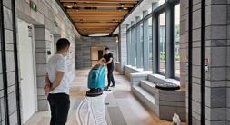 洗地机酒店宾馆用的效果及优势