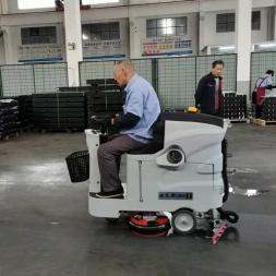 驾驶式洗地机常见的十项问题及对应的解决办法