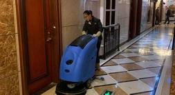 洗地机是酒店地面清洁用神器-优尼斯