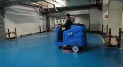 洗地机越来越受到物业保洁公司的青睐-优尼斯