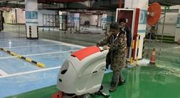 物业保洁洗地机