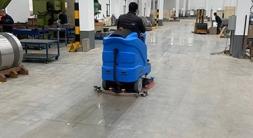 昆山洗地机是工厂车间地面清洁神器