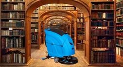 海门洗地机是图书馆地面清洁的有利神器