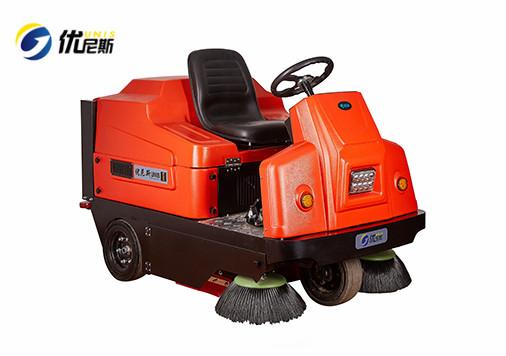 UNS1350驾驶式扫地车 物业保洁扫地机 电动扫地车