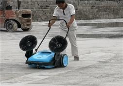 优尼斯扫地机UNS920|手推式扫地机|无动力扫地机