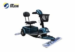 优尼斯UNS903尘推车|电动三轮保洁车|驾驶式拖地机