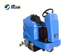 优尼斯U800R洗扫一体机|驾驶式洗地机|电动拖地机